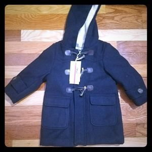 Winter kids boys/girls peacoat woolen jacket 1-2yr